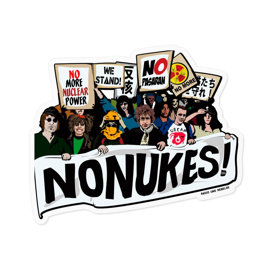 No Nukes Protest
