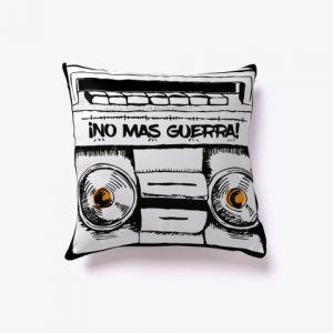 No Mas Guerra Indor Pillow