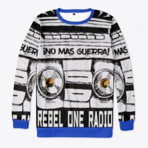 No Mas Guerra sweatshirt