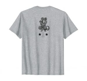 Justice Dog Tee back