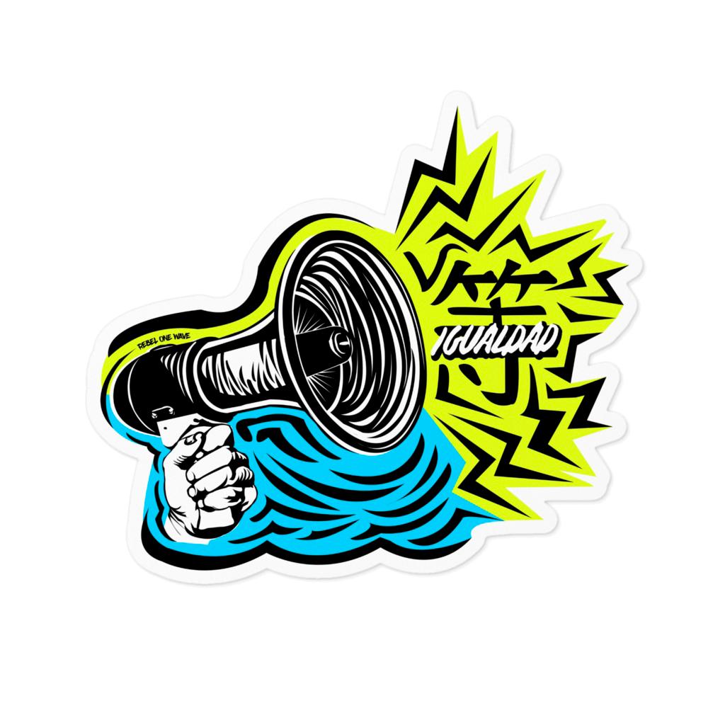 Igualdad Sticker