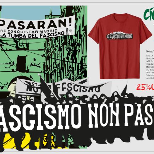 OFERTA!! CICO & TOMIKO / NO PASARAN T-Shirts