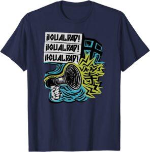 IGUALDAD! Two sided T-Shirt Navy