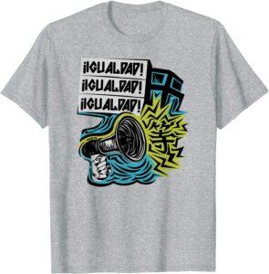 IGUALDAD! Two sided T-Shirt Heather Grey
