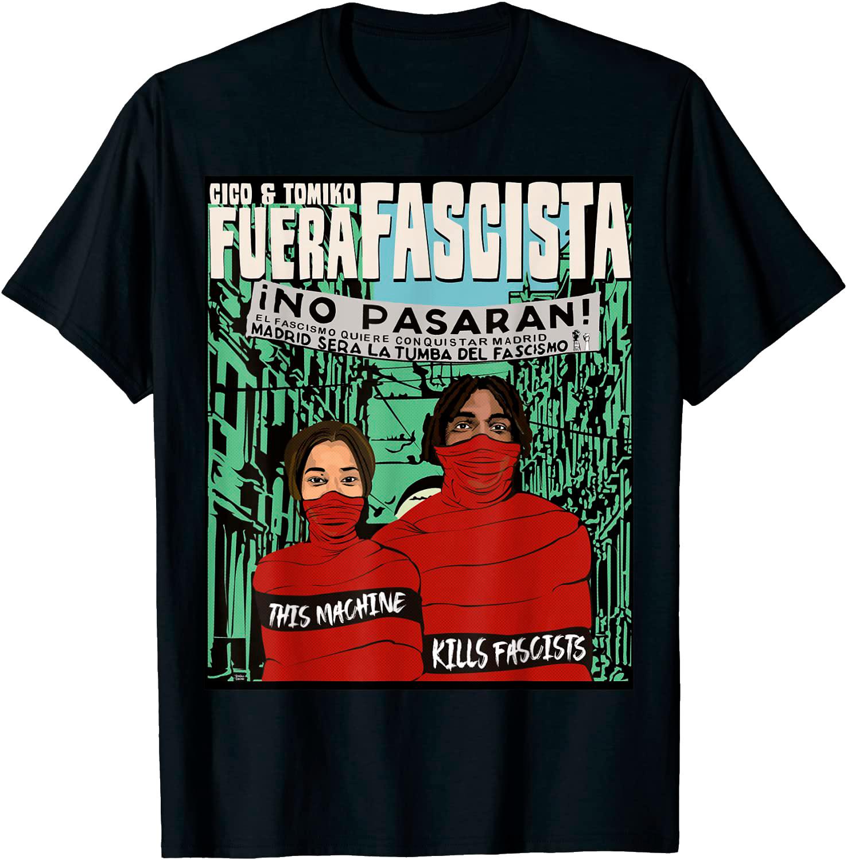 Fuera Fascista tee