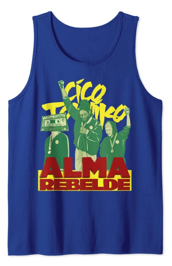 Alma Rebelde tank