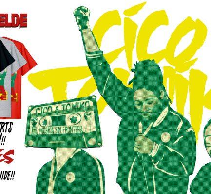 『Cico & Tomiko』 Alma Rebelde T-shirts